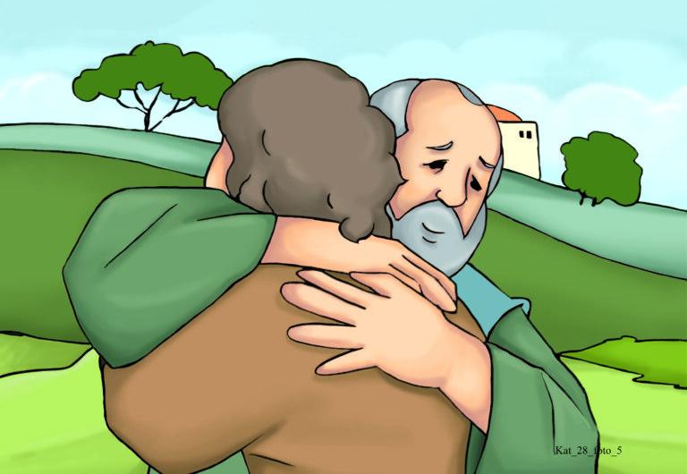 Pan Jezus pokazuje nam drogę powrotu do Ojca – syn marnotrawny, str. 70.
